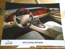 Jaguar XKR Classic Interior Press Photo c1999??
