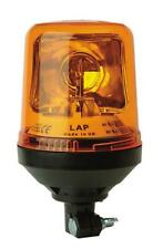 LAP amber halogen rotating DIN flashing warning roof beacon 12V with bulb