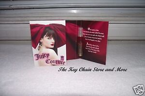 JUICY COUTURE Perfume Spray Sample 0.4 fl. oz. / 1.2 ml  + Free Bag