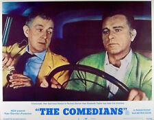 COMEDIANS 1967 Alec Guinness Richard Burton - Graham Greene U.S. LOBBY CARD #5