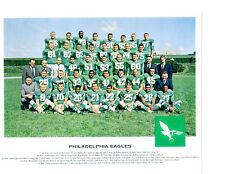 1962  PHILADELPHIA EAGLES TEAM 8X10 PHOTO  JURGENSEN  FOOTBALL NFL AFL