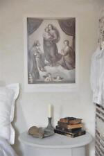 Jeanne d´Arc Living Poster Banner Madonna and Child 50x70 JDL Shabby Vintage