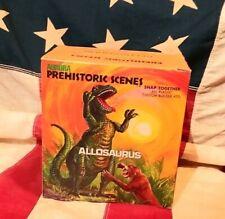 Vintage Aurora Prehistoric scenes Allosaurus model kit complete with box