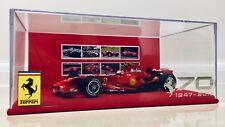 1:18 Ferrari F2007 Kimi Raikkonen Formula 1 70th Anniversary Special Edition!