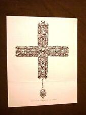 Medioevo d'Italia Croce di gemme e smeraldi Tesoro di Monza