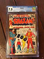 Shazam #1 CGC 7.5 1st Appearance & Origin of Captain Marvel, Jr. and Mary Marvel