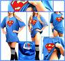 OFFICIAL SUPERMAN t-shirt SIZE LARGE CLASSIC LOGO VINTAGE STYLE DC COMICS