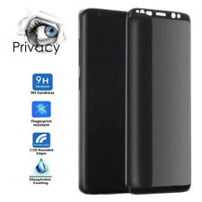 For Samsung Galaxy S9 Plus Privacy Full Screen Protector Anti-Spy Tempered Glass