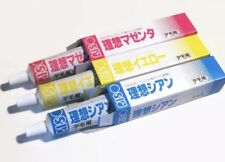 NEW Riso Print Gocco 3 pack Ink Set Paper Screen Printing Blue Magenta Yellow