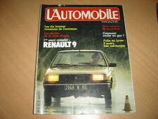L'automobile N°424 Renault 9.Dossier GPL.