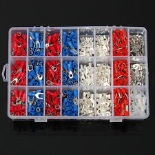 1000Pcs Female&Male Spade Insulated Connectors Crimp Electrical Wire Terminal