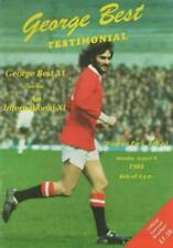 More details for * george best testimonial - best xi v international xi (8th august 1988) *