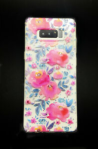 Roses Series Soft Slim Crystals Protective Case Cover for Samsung Galaxy Note 8