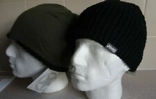 JEEP ~ BEANIE HAT ~ REVERSIBLE ~ TRICOT RANGE ~ BLACK/OLIVE ~ CHUNKY ~ QUALITY!
