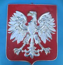Godlo Polski Orzel PRL  Poland - Vintagr Polish Eagle Emblem,