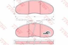gdb1069 TRW Set de pastillas de freno, freno de disco Eje delantero