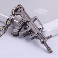 Weapon Gun Keychain NEW Pistol ​Weapon Mini Model Metal Keyring Key Ring QBZ95