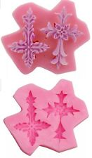 2 CROSS SILICONE MOULD-CHRISTENING/HOLY COMMUNION MOLD-CHOCOLATE-CAKE CROSSES