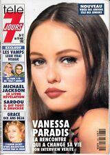 Télé 7 Jours  Vanessa Paradis Grace Monaco Vamps 1665/1992 2*