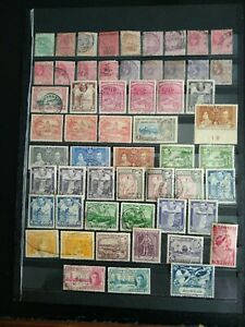 BRITISH GUIANA 1889-1949, Good Mixed Used Lot values to $1,  56 stamps.