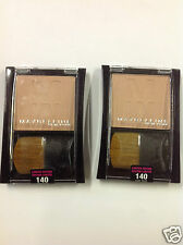 2 X Maybelline Expert Wear Blush NUDE FLUSH #140 NEW.