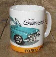Dinky Toys Ford Capri Speedwheels Advert MUG