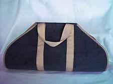 The BEST wood tote bag in teal