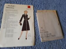 Vintage 1970s Silver Needles sewing pattern No: 56 Tailored dress uncut