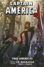 Captain America : Two Americas by Ed Brubaker (2010, Paperback): Graphic Novel