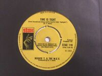"""Booker T & The M.G.s: Time Is Tight / Hang 'Em High 7"""" Vinyl Single Free UK Post"""