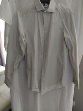 Calvin Klein Mens Slim Fit geometric Dress Shirt Size 14.5 32/33 pre owned