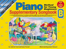 CP18396 - Progressive Piano Method for Young Beginners: Supplimentary Songbook B