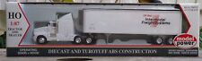 Long Haul Truck W/sleeper Model Power HO 17006 CP Rail HO Scale
