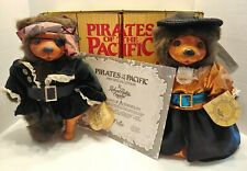 1989 Robert Raikes PIRATES OR THE PACIFIC 2 Pirate Theme Bears  COA