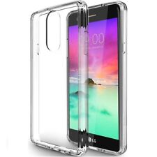 LG Stylo 4 Case Slim Fit Clear Shockproof Defender Rubber Armor Protective Cover