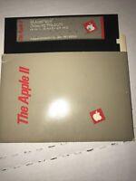 Apple II Mousepaint Drawing By Apple For Apple II IIe IIc 5.25 Floppy Disk