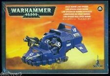 Space Marine Land Speeder Warhammer 40K New and Sealed In Box Free Shipping