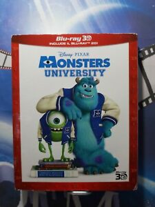 Monsters University 2D + 3D (2 Blu-Ray)