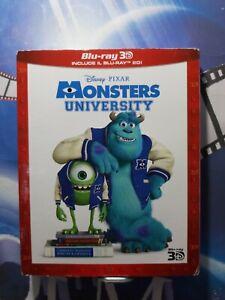 Monsters University 2D + 3D (2 Blu-Ray)