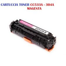 CARTUCCIA PER STAMPANTE HP COLORJET CP2020 CP2025 CM2320 TONER CC533A 304A MAG.