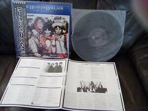 THE BEATLES BALLADS Odeon LP JAPAN EDIT. OBI 4pg LYRIC INSERT LET IT BE NR.Mint