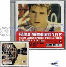 "PAOLO MENEGUZZI ""LEI E'"" RARO CD CON BRANI IN FRANCESE"