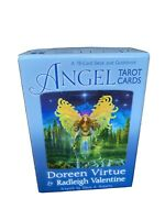 Angel Tarot Cards 78 Cards & Guidebook Doreen Virtue Radleigh Valentine