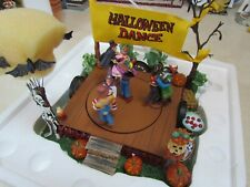 2002 Dept. 56 Snow Village Halloween: Halloween Dance ~ Mint in the Box!