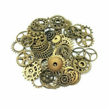 Lot 20pcs Bronze Watch Parts Steampunk Cyberpunnk Cogs Gears DIY Jewelry Crafts