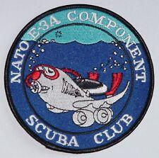 Aufnäher Patch NATO AWACS E-3A Component SCUBA CLUB ...........A2434