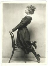 Dress, Leather Boots Vintage 1910-20s Charles Sheldon Ladies Fashion Photograph