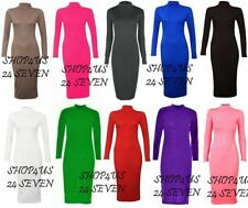 Viscose Stretch, Bodycon Unbranded Regular Dresses for Women