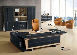 Schreibtische Chef Eckschreibtisch Büro Zimmer Möbel Design Praxis Kanzlei Möbel