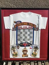 1997 Indianapolis 500 Tickets - Shirt  - Stickers Framed